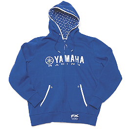 Factory Effex Yamaha Racing Zip Hoody - One Industries Yamaha Proper Hoody