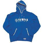 Factory Effex Yamaha Racing Zip Hoody - Utility ATV Mens Sweatshirt and Hoodies
