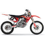Factory Effex EVO 9 Graphics - Honda - Dirt Bike Graphic Kits