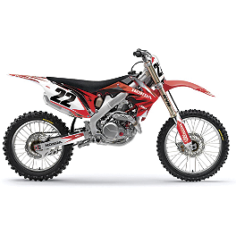 Factory Effex EVO 9 Graphics - Honda - 2007 Honda CRF450R 2013 Factory Effex Monster Energy Cosmetic Kit - Honda