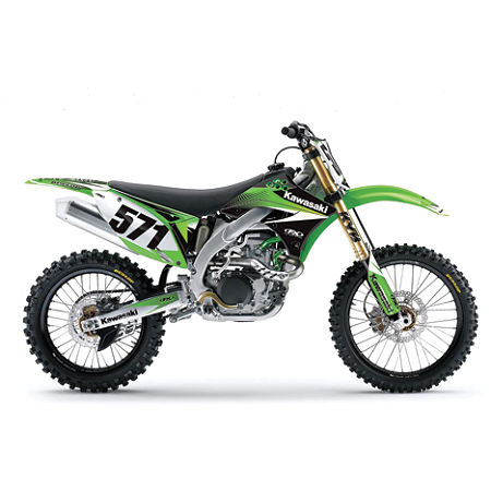 Factory Effex EVO 9 Graphics - Kawasaki - Main