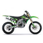 Factory Effex EVO 9 Graphics - Kawasaki - Kawasaki KDX200 Dirt Bike Body Parts and Accessories