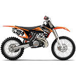 Factory Effex EVO 9 Graphics - KTM - Factory Effex Dirt Bike Graphics