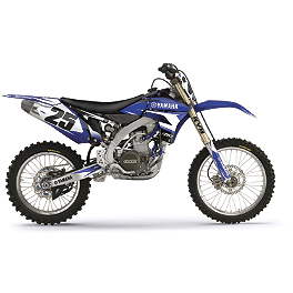 2012 Factory Effex EVO 9 Graphics - Yamaha - 2012 Yamaha YZ450F Factory Effex All-Grip Seat Cover