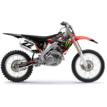 2012 Factory Effex Monster Energy Graphics - Honda - Main