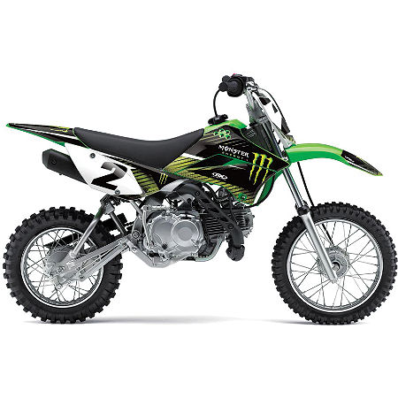 2012 Factory Effex Monster Energy Graphics - Kawasaki - Main