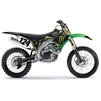 2012 Factory Effex Monster Energy Graphics - Kawasaki