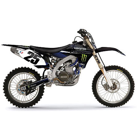 2013 Factory Effex Monster Energy Complete Graphic Kit - Yamaha - Main
