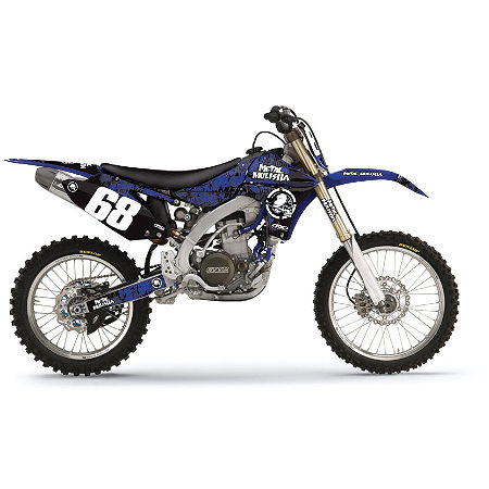 2012 Factory Effex Metal Mulisha Graphics - Yamaha - Main