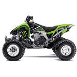 2013 Factory Effex Monster Energy ATV Graphics - Kawasaki -  ATV Body Parts and Accessories
