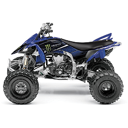2013 Factory Effex Monster Energy ATV Graphics - Yamaha - 2009 Yamaha RAPTOR 700 Factory Effex All-Grip ATV Seat Cover