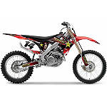 2013 Factory Effex Rockstar Complete Graphics Kit - Honda - Factory Effex Graphic Kits