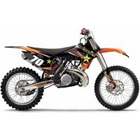 2013 Factory Effex Rockstar Complete Graphics Kit - KTM