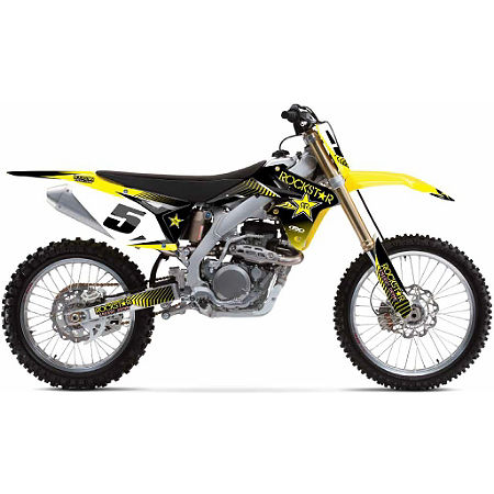 2013 Factory Effex Rockstar Complete Graphics Kit - Suzuki - Main