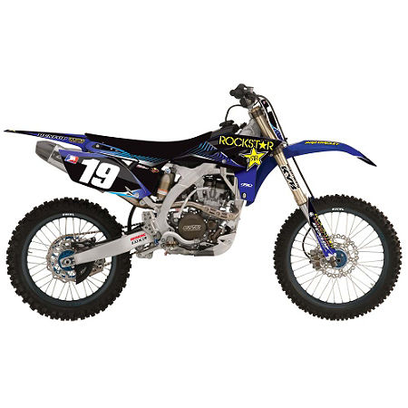 2013 Factory Effex Rockstar Team Graphics - Yamaha - Main