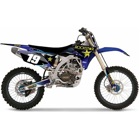 2013 Factory Effex Rockstar Complete Graphics Kit - Yamaha - Main