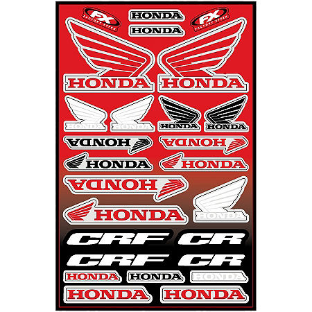 Factory Effex Honda Decal Sheet - Main