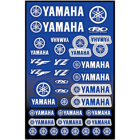 Factory Effex Yamaha Decal Sheet - Main
