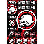 Factory Effex Metal Mulisha Decal Sheet Kit 2 - Factory Effex Dirt Bike Trim Decals