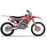 2013 Factory Effex EVO 10 Graphics - Honda - Dirt Bike Graphic Kits