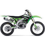 2013 Factory Effex EVO 10 Graphics - Kawasaki - Dirt Bike Graphic Kits