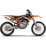 2013 Factory Effex EVO 10 Graphics - KTM - Dirt Bike Graphic Kits