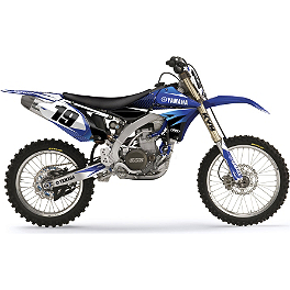 2013 Factory Effex EVO 10 Graphics - Yamaha - 2013 Yamaha YZ450F Factory Effex All-Grip Seat Cover