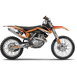 Factory Effex EVO 10 Graphics And Seat Cover Combo - KTM - 2013 Factory Effex Rebeaud FMX Shroud / Trim Kit - KTM