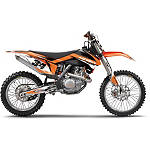 Factory Effex EVO 10 Graphics And Seat Cover Combo - KTM - Factory Effex Dirt Bike Graphic Kits With Seat Covers