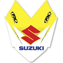 2013 Factory Effex Front Fender Decal - Suzuki - 2007 Suzuki RM85 Factory Effex DX1 Backgrounds Pro - Suzuki