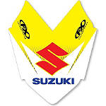 2013 Factory Effex Front Fender Decal - Suzuki - Dirt Bike Trim Decals