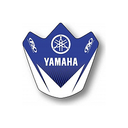 2013 Factory Effex Front Fender Decal - Yamaha - 1996 Yamaha YZ125 Factory Effex All-Grip Seat Cover