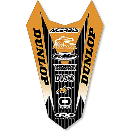 2013 Factory Effex Rear Fender Decal - KTM - 2004 KTM 450SX Factory Effex All-Grip Seat Cover