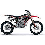 2013 Factory Effex Monster Energy Complete Graphics Kit - Honda - Factory Effex Dirt Bike Parts