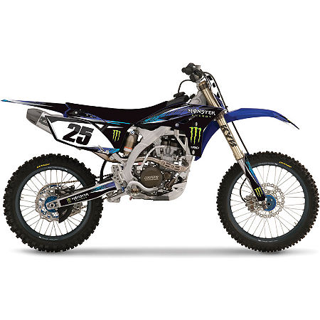 2013 Factory Effex Monster Energy Complete Graphics Kit - Yamaha - Main