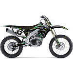 2013 Factory Effex Monster Energy Cosmetic Kit - Kawasaki - Factory Effex Dirt Bike Graphic Kits With Seat Covers