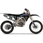 2013 Factory Effex Monster Energy Cosmetic Kit - Yamaha - Dirt Bike Graphic Kits With Seat Covers