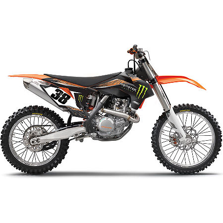 2013 Factory Effex Monster Energy Graphics - KTM - Main