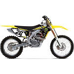 2013 Factory Effex Monster Energy Graphics - Suzuki - Dirt Bike Graphic Kits