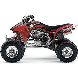 2013 Factory Effex Metal Mulisha ATV Graphics Kit - Honda - 2013 One Industries Delta ATV Graphic Kit - Honda