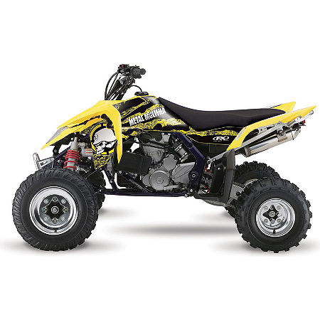 2013 Factory Effex Metal Mulisha ATV Graphics Kit - Suzuki - Main