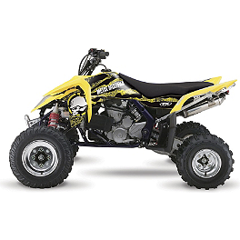 2013 Factory Effex Metal Mulisha ATV Graphics Kit - Suzuki - 2013 Factory Effex Rockstar ATV Graphics Kit - Suzuki