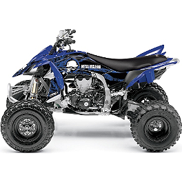 2013 Factory Effex Metal Mulisha ATV Graphics Kit - Yamaha - 2008 Yamaha RAPTOR 700 Factory Effex All-Grip ATV Seat Cover