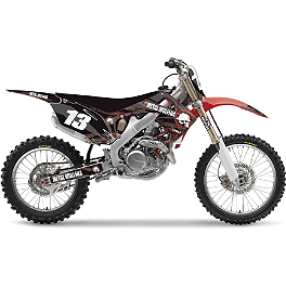 2013 Factory Effex Metal Mulisha Graphics - Honda - 2007 Honda CRF50F Factory Effex DX1 Backgrounds Standard - Honda