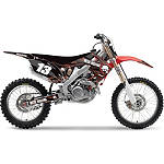 2013 Factory Effex Metal Mulisha Graphics - Honda - Dirt Bike Exhaust Systems & Accessories