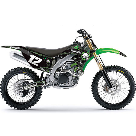 2013 Factory Effex Metal Mulisha Graphics - Kawasaki - Main
