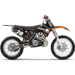 2013 Factory Effex Metal Mulisha Graphics - KTM - 2012 N-Style Factory Team Graphics Kit - KTM