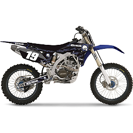 2013 Factory Effex Metal Mulisha Graphics - Yamaha - 2002 Yamaha YZ125 2014 Factory Effex Rear Fender Decal - Yamaha