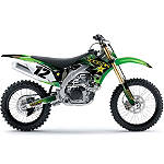 2013 Factory Effex Rockstar Complete Graphic Kit - Kawasaki - Factory Effex Dirt Bike Parts