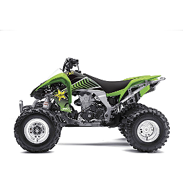 2013 Factory Effex Rockstar ATV Graphics Kit - Kawasaki - 2013 Factory Effex Monster Energy ATV Graphics - Kawasaki